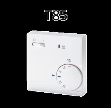 Thermostaat T85 1 ventilatorsnelheid/schakelaar dagelement