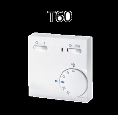 Thermostaat T60 is een luxe uitvoering van de T85