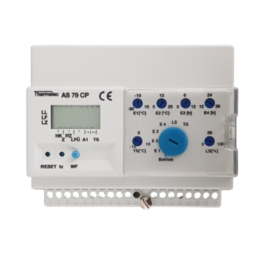 Oplaadsysteem met tijdsverschuiving - restwarmte + buitenvoeler inbegrepen
