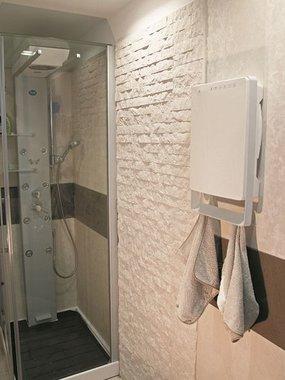 Badkamerblazer Touch 1800W met handdoekbeugel