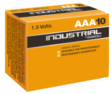 Duracell Industrial AAA (10 box)